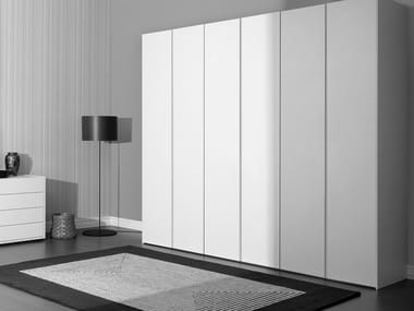 Sectional lacquered wardrobe IDEA