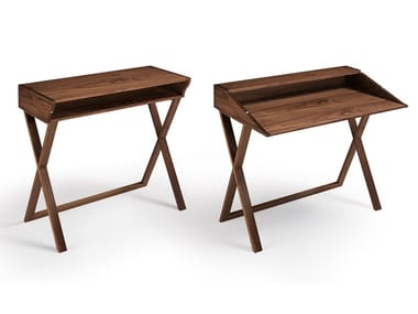 Solid wood console table / secretary desk IDEA