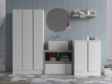 Sectional Laundry Room Cabinet For Washing Machine IDROBOX | Laundry Room  Cabinet For Washing Machine