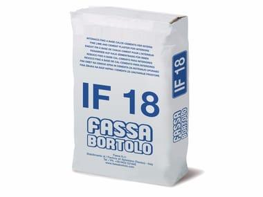 Intonaco a base di calce idraulica e idrata IF 18