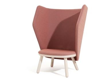 Easy chair high-back IKKOKU | Easy chair high-back