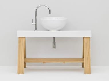 Meuble sous-vasque sur pieds simple IL CAVALLETTO