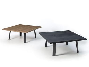 Tavolino quadrato in rovere IL NATURALE | Tavolino