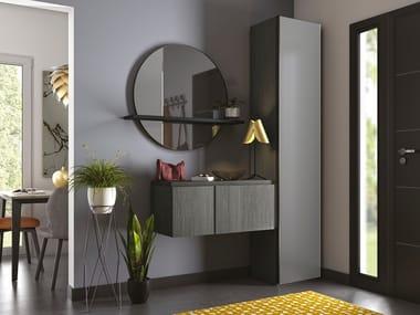 Sectional wall-mounted hallway unit IMAGINE | Hallway unit