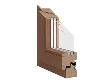 Wooden casement window IMPERIA 91 CLS