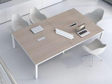 Tavolo da riunione rettangolare IMPULS | Tavolo da riunione