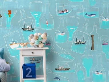 For all ages wallpaper, PVC free, eco, washable IN A BOTTLE