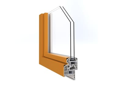 Aluminium thermal break window IN'ALPHA PRESTIGIO | Aluminium window