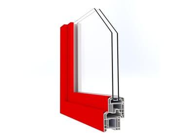 Finestra a taglio termico in alluminio con doppio vetro IN'ALPHA70 | Finestra in alluminio