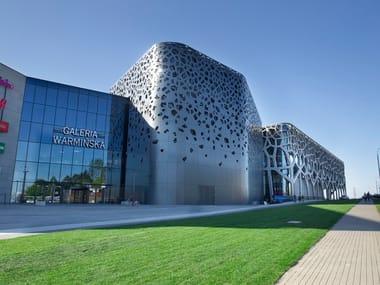 Composite material facade panel IN-COMPO