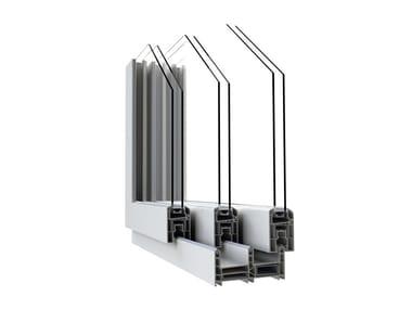 PVC thermal break window IN'LINE
