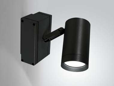 Adjustable extruded aluminium Outdoor spotlight IN-OUT