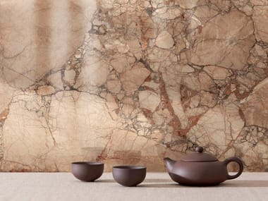 Porcelain stoneware wall/floor tiles with marble effect INCANTO