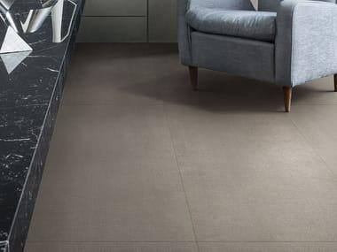 Porcelain stoneware flooring with textile effect INCIPIT   Flooring with textile effect