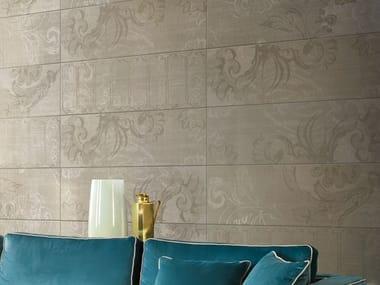 Porcelain stoneware wall tiles with textile effect INCIPIT   Wall tiles with textile effect