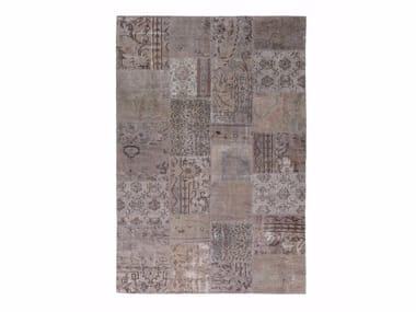 Patchwork wool rug INDUSTRIAL