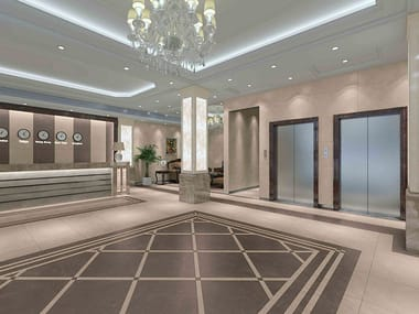 Porcelain stoneware wall/floor tiles with marble effect INFINITY