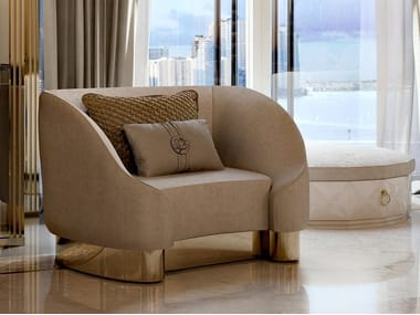 Fabric armchair with armrests INFINITY   Armchair with armrests