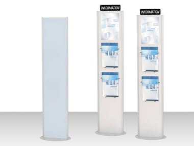 Double-sided display stand INFO-TOTEM