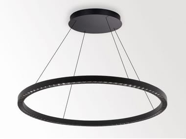 LED office pendant lamp with dimmer INFORM R1+ CS