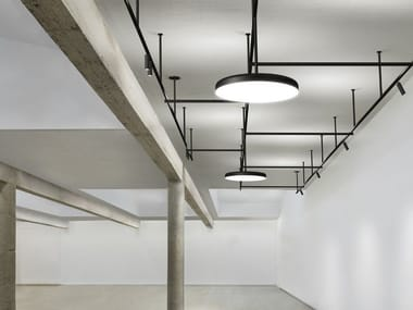 Extruded aluminium Track-Light INFRA-STRUCTURE