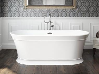 Freestanding oval bathtub INGRID