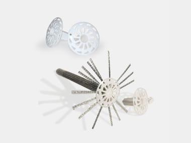 Tassello in polipropilene armato con fibra di vetro INIETTORE&CONNETTORE GEOSTEEL
