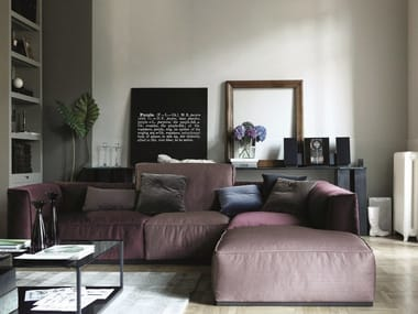 Arketipo. Sectional sofa with chaise longue INKAS   Sectional sofa