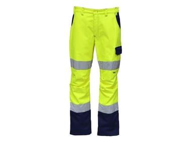 Pantalone hv 53% -47% PL 190 g/mq INN-PANEL YELLOW HV/SUPER BLUE NAVY