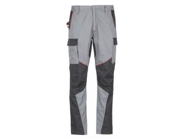 Pantalone 65% PL-35 %Cotone 180 g/mq INN-ROCKER NEW GREY/BLACK