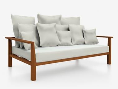 4 seater fabric garden sofa INOUT 04