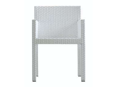 Polyethylene chair with armrests INOUT 224