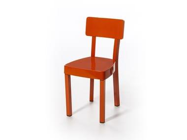 Sedia in alluminio verniciato a polvere INOUT 23