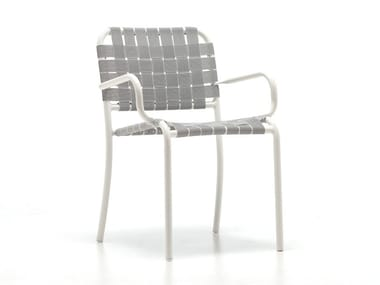 Stackable garden chair with armrests INOUT 824 C / 824 TX