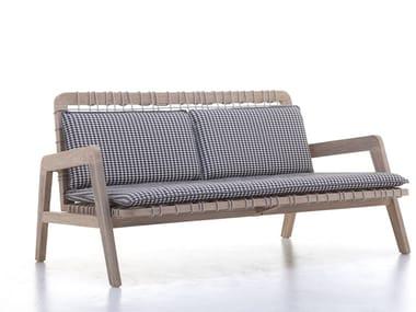 Teak garden sofa INOUT 863