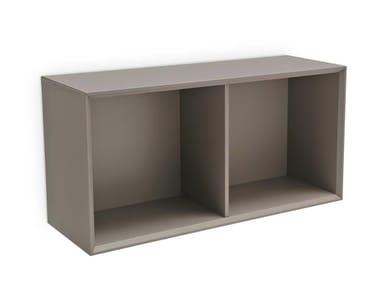 Open Horizontal Wall Cabinet INSIDE | Horizontal Wall Cabinet