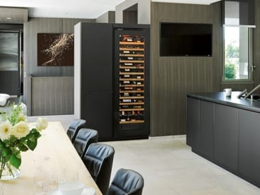built in wine fridge. Built-in Upright Wine Cooler INSPIRATION: LARGE | With Glass Door Built In Fridge