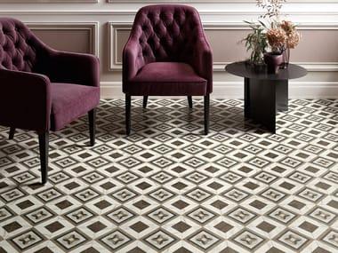 Porcelain stoneware wall/floor tiles INTARSI GLAM