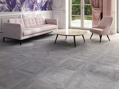 Wooden flooring INTARSIA