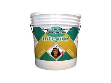 Idropittura lavabile per interno INTERIOR