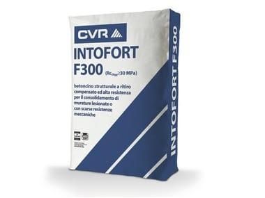 Intonaco fibrorinforzato e speciale INTOFORT F300