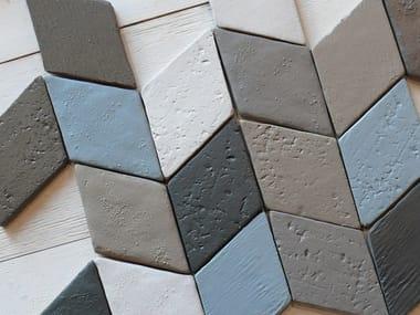 Faïence wall tiles INTONACO ROMBO