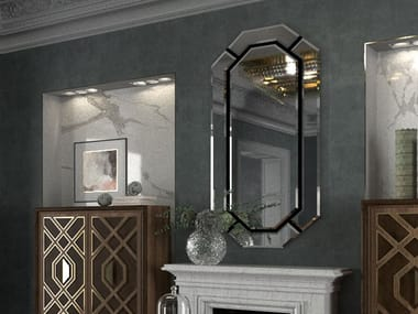 Wall-mounted mirror INTRIGUE | Mirror