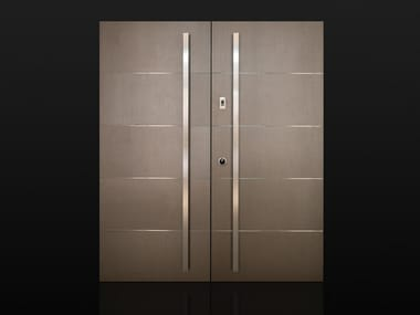 Porcelain stoneware safety door INVISIBILE