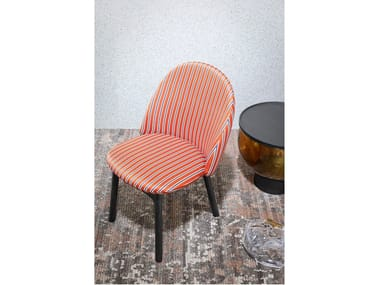 Upholstered fabric chair IOLA | Chair