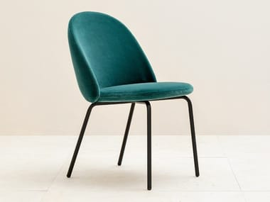 Upholstered velvet chair IOLA | Upholstered chair