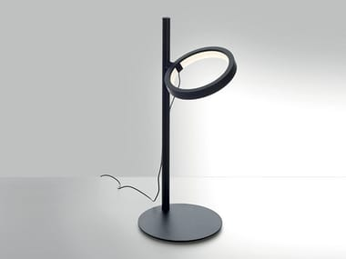 Steel table lamp IPPARCO