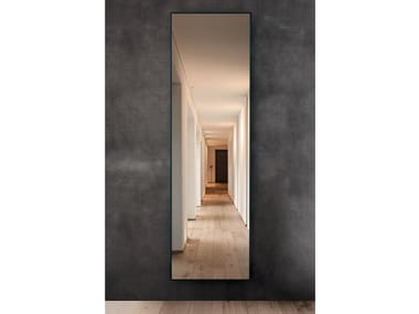 Rectangular panel radiator/mirror IRIDE