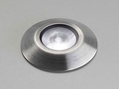 Segnapasso a LED a pavimento in acciaio inox IRIDE