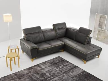 Divano componibile con chaise longue IRIS
